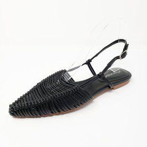 Jeffrey Campbell Myron Black Pointed Toe Flats